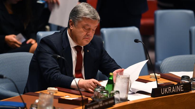 """Petro Poroschenko: """"Wer Moskau widerspricht, riskiert seine Freiheit"""""""