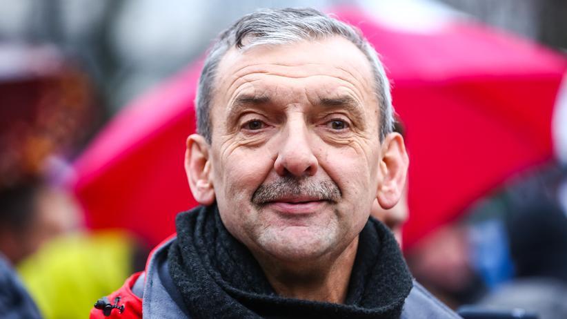 Polen: Der Chef des polnischen Lehrerverbandes ZNP: Slawomir Broniarz