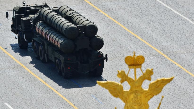 Recep Tayyip Erdoğan: Russisches Raketenabwehrsystem vom Typ S-400 bei einer Militärparade in Moskau