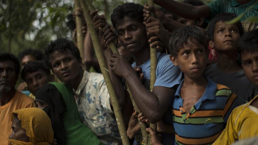 Myanmar: Flüchtlinge aus Myanmar in Bangladesch