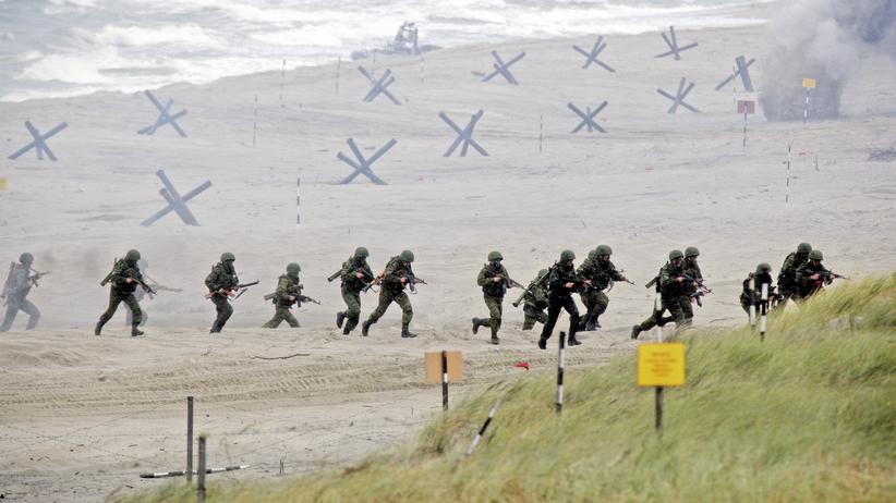 Russland: Soldaten bei einer Übung