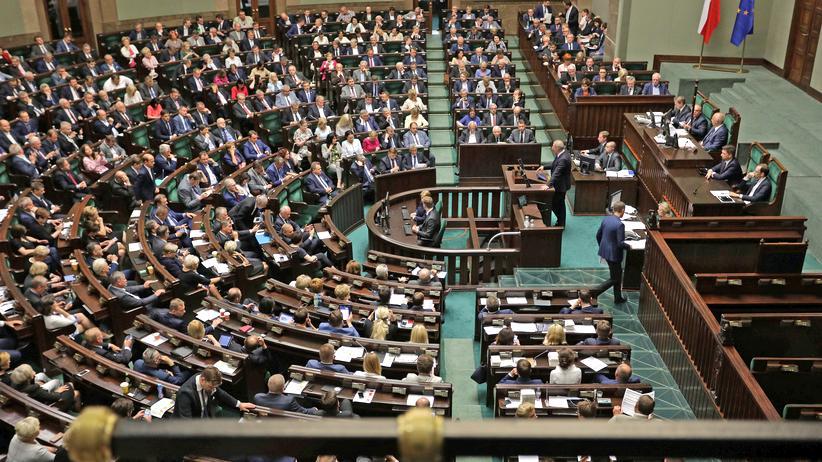 Sejm Polen Parlament