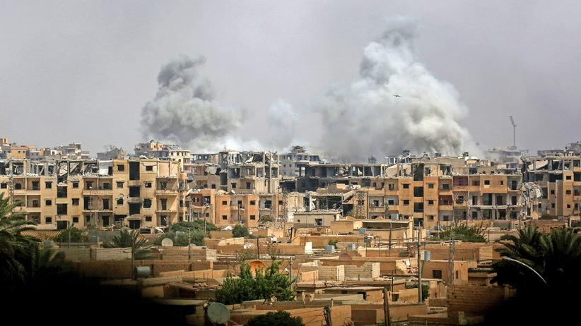 Syrien Luftschlag