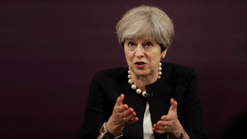 Brexit: Die britische Premierministerin Theresa May