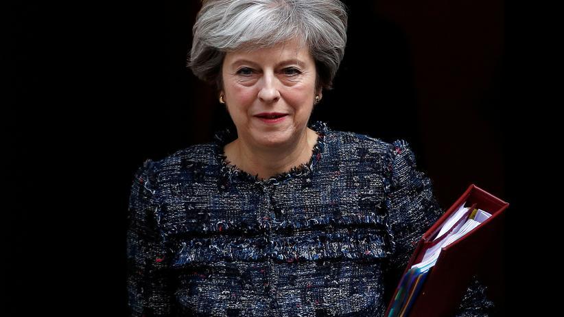 Regierungschefin Theresa May hält am Freitag eine Rede zur EU-Politik ihres Landes.