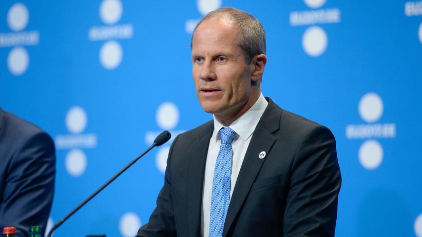 Europäische Union: Estlands Finanzminister Toomas Toniste beim EU-Treffen in Tallin