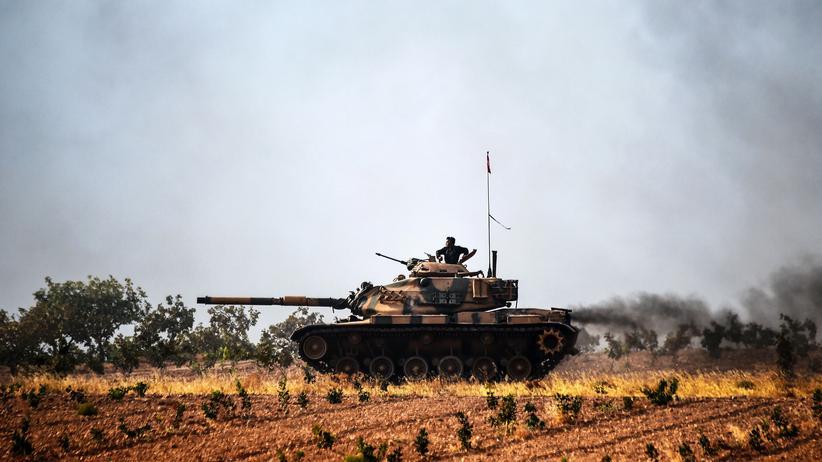 Irak: Türkischer Panzer in der Grenzregion zu Syrien