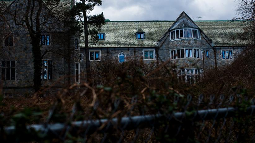 USA und Russland: Betreten verboten: Blick auf das Killenworth-Anwesen in Maryland