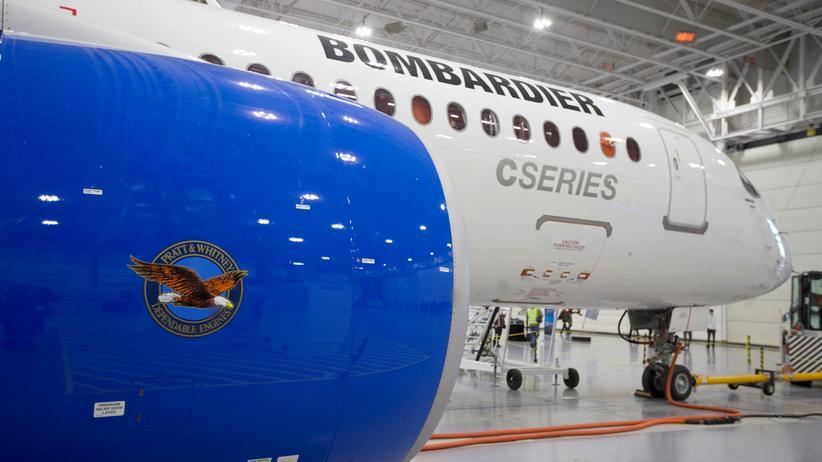 USA ordnen hohe Zollgebühr für kanadische Bombardier-Flugzeuge an