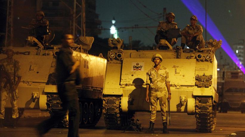 Ägypten Soldaten Armee