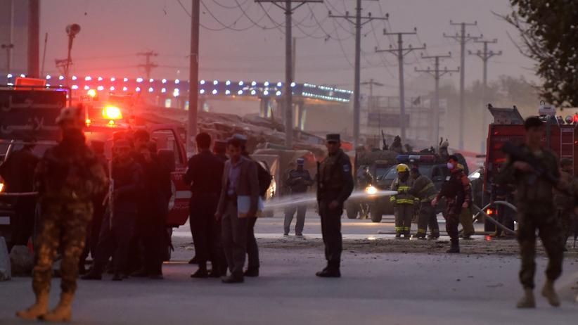Afghanistan: Mehrere Polizisten bei Talibanoffensive getötet
