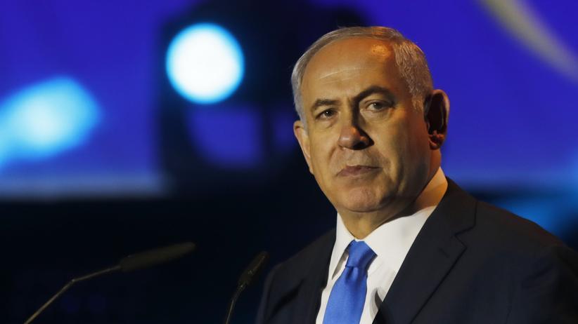 Benjamin Netanjahu: Benjamin Netanjahu, Premier von Israel, September 2017