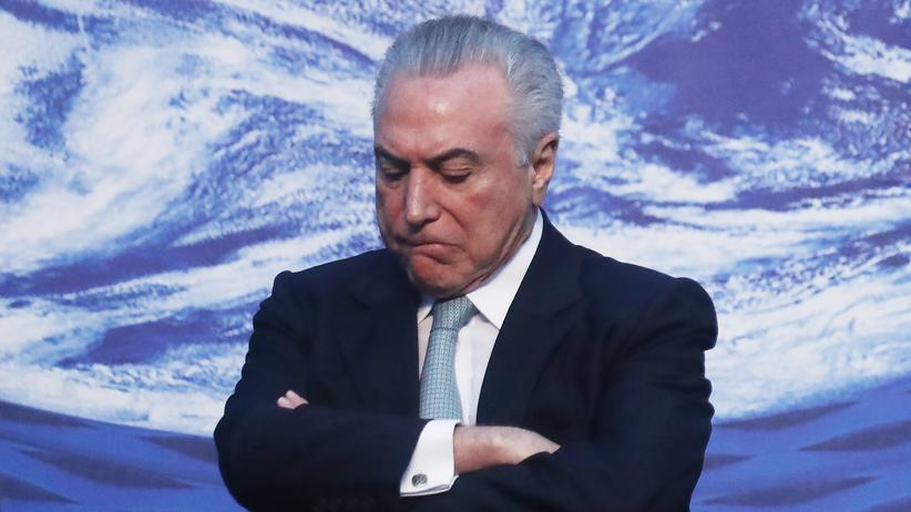 Brasilianisches Parlament blockiert Anklage gegen Präsident Temer