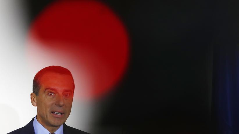 SPÖ: Unter Druck: Der österreichische Bundeskanzler Christian Kern
