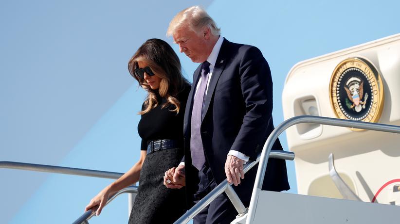 """Donald Trump in Las Vegas: """"Das ist ein sehr trauriger Tag für mich"""""""