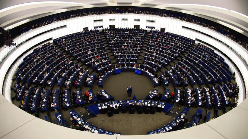 EU-Abgeordnete: Das EU-Parlament in Straßburg