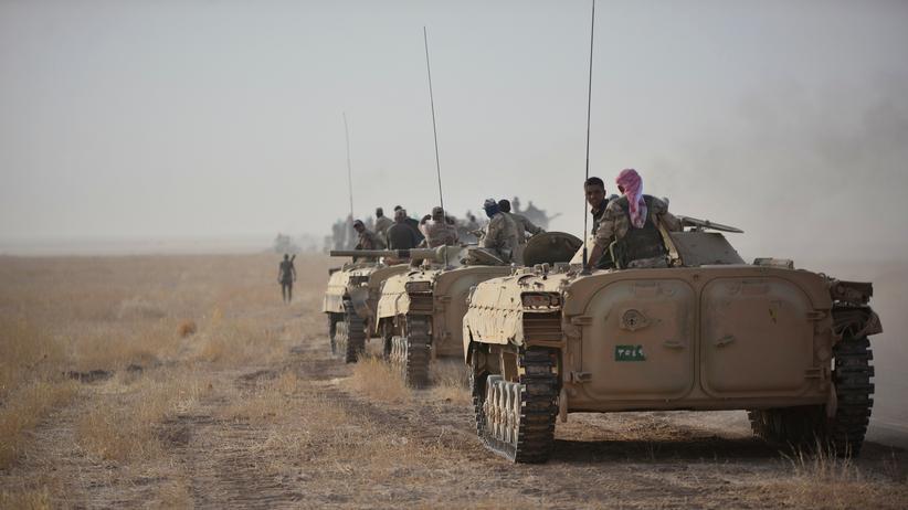 Irak: Kurden versetzen Kämpfer in Bereitschaft