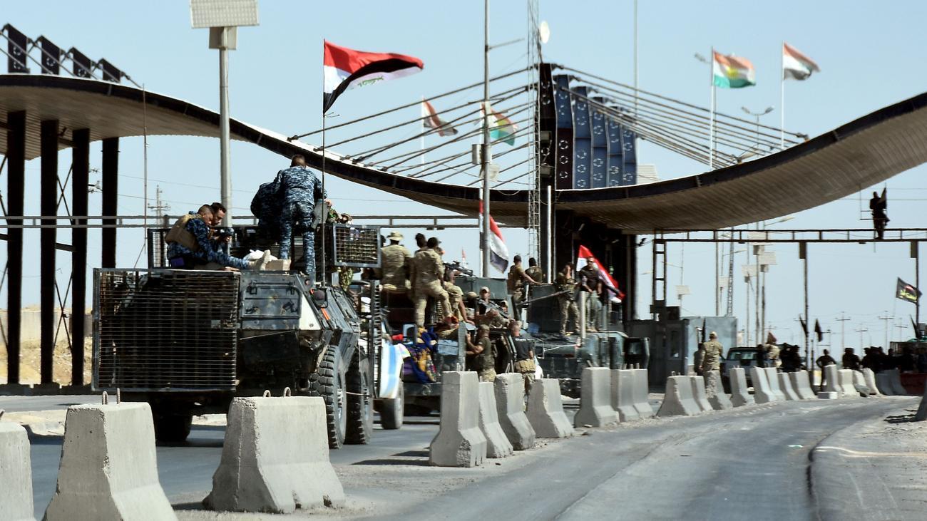 Irakische Armee erobert Regierungsgebäude in Kirkuk