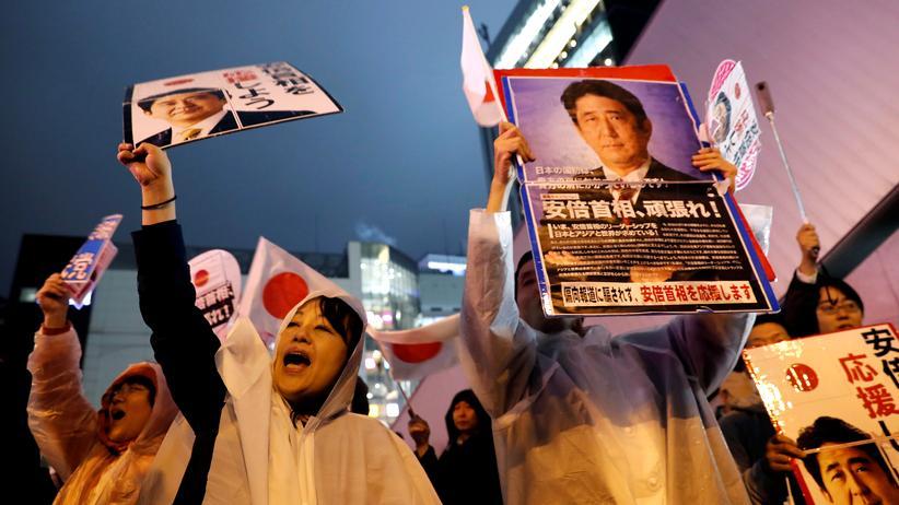 Japan: Regierungschef Abe gewinnt Parlamentswahl deutlich