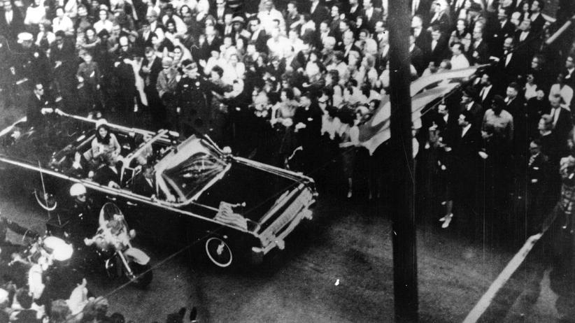JFK-Akten: Britische Zeitung erhielt anonymen Hinweis vor dem Attentat