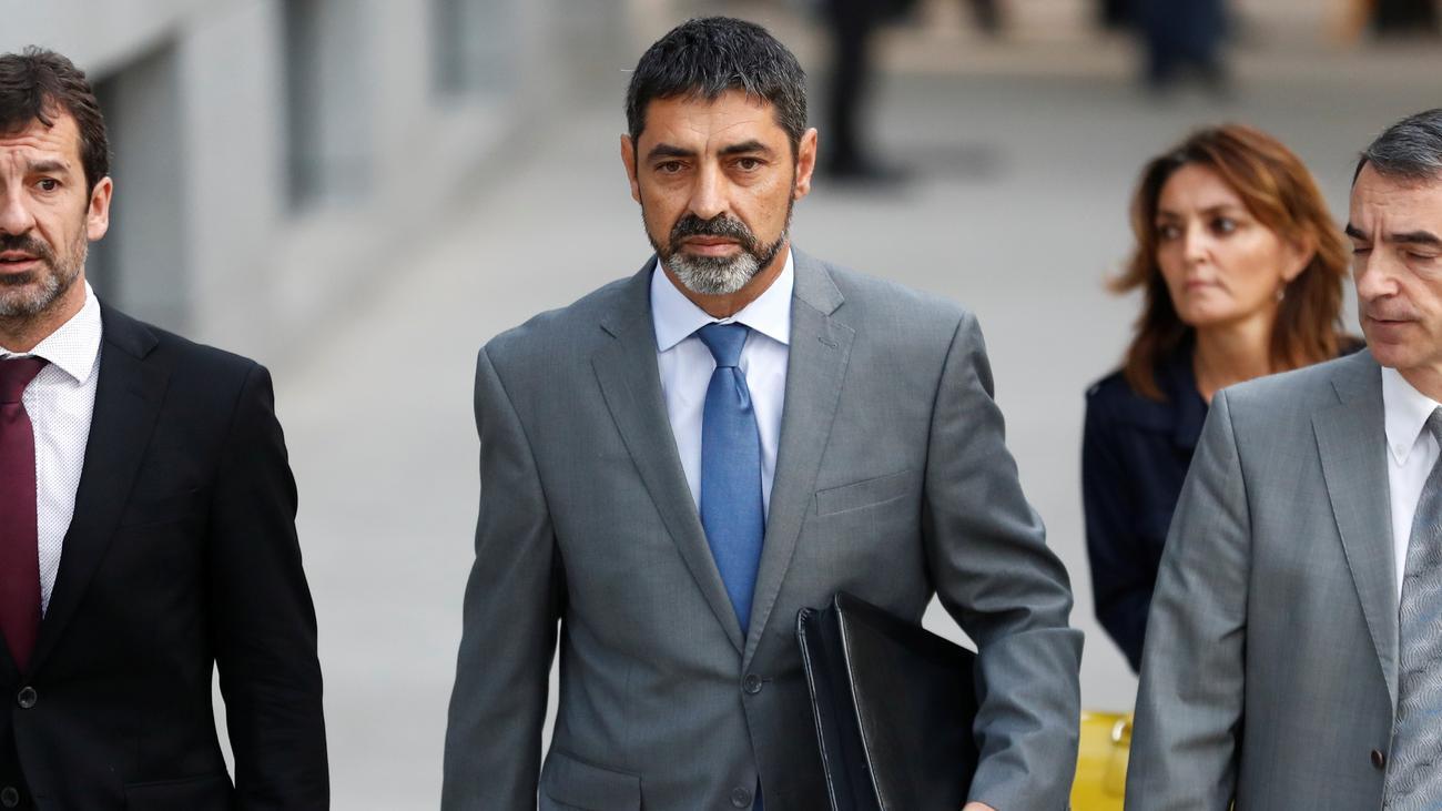 Josep Lluís Trapero: Katalanischer Polizeichef unter Auflagen frei
