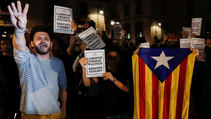 """Katalonien: """"Es gibt wieder politische Gefangene"""""""