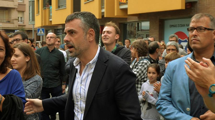 Streit um Unabhängigkeit: Der katalanische Politiker Santi Vila