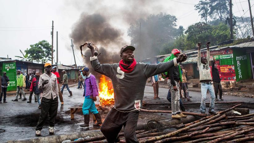 Kenia: Zusammenstöße bei Präsidentschaftswahl in Kenia