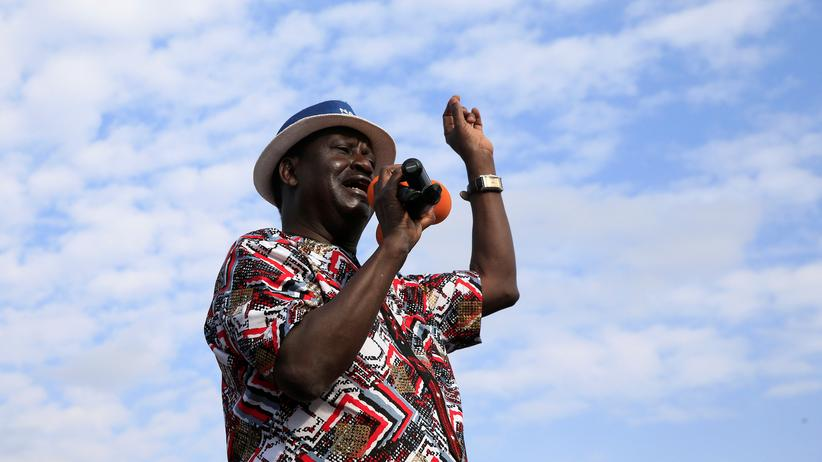 Kenias Oppositionsführer Odinga will Neuwahl boykottieren