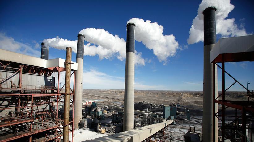 Klimaschutz: Ein Kraftwerk im US-Bundesstaat Wyoming