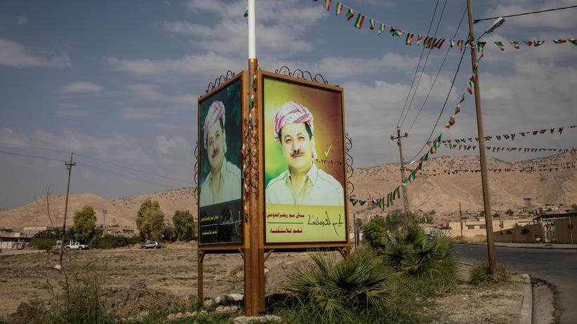 Nordirak: Kurdenpräsident kündigt Rückzug an