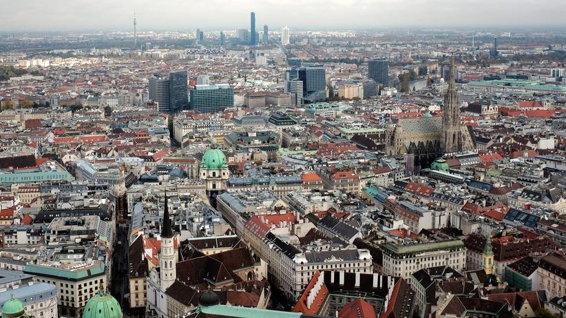 Wien: Das Zentrum von Wien, Österreichs einziger Großstadt