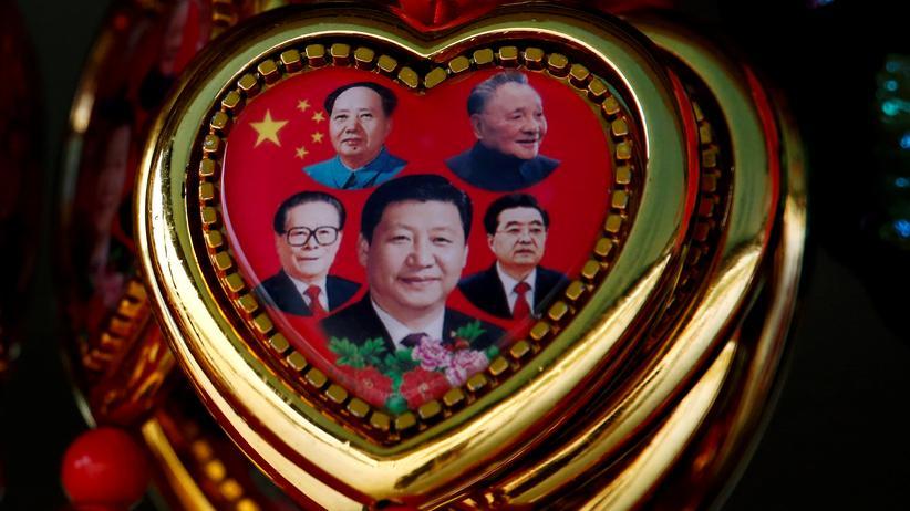 Vier Parteichefs und Deng