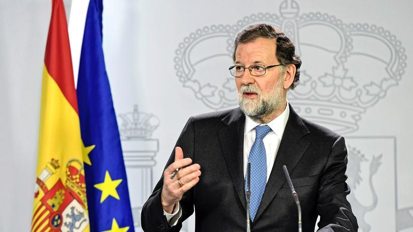 Rajoy Spanien Regionalregierung Katalonien