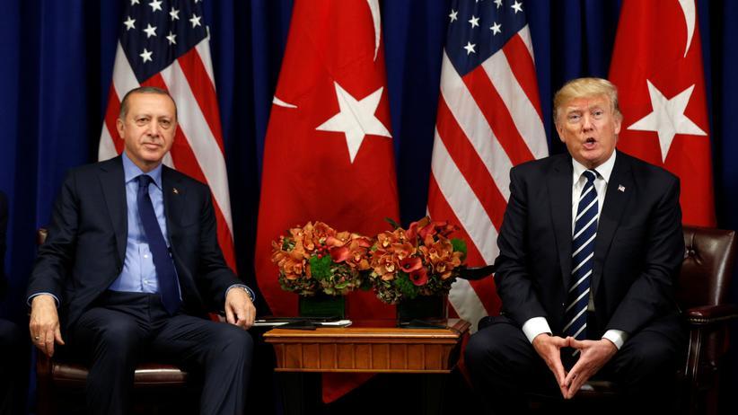 Recep Tayyip Erdogan Türkei Kritik USA Donald Trump