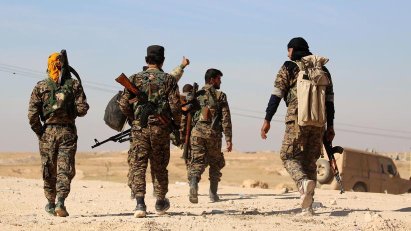 Syrien: Kämpfer der Syrischen Demokratischen Kräfte (SDF).