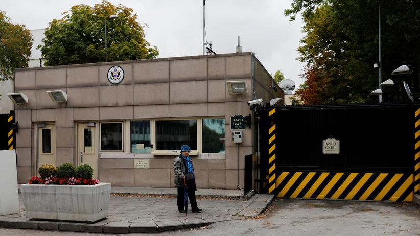 Türkei und USA: Die US-Botschaft im türkischen Ankara