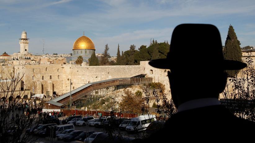 Nahostkonflikt: Blick auf den Tempelberg in der Jerusalemer Altstadt
