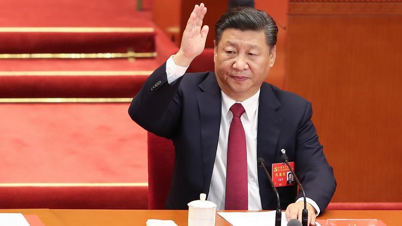 Kommunistische Partei: Chinas Präsident Xi Jinping beim Parteitag