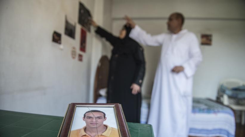 Ägypten: Abu Zeid and Reda Mahrous, die Eltern des eingesperrten Fotojournalisten.