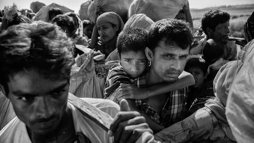 Flüchtlinge: Mehr als 600.000 Rohingya flohen vor den gewaltsamen Übergriffen der myanmarischen Armee nach Bangladesch.