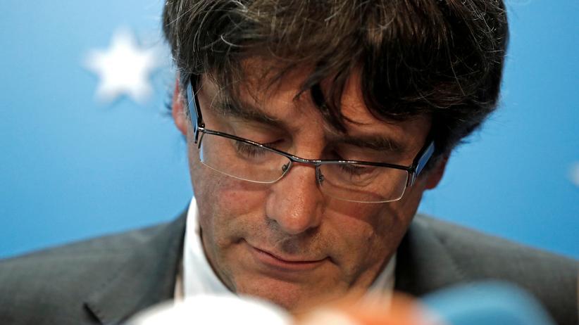 Katalonien: Dem ehemaligen katalanischen Regierungschef Carles Puidgemont droht Haft.