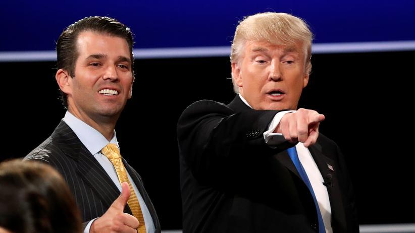 Russland-Affäre: WikiLeaks hatte im US-Wahlkampf Kontakt zu Trumps Sohn