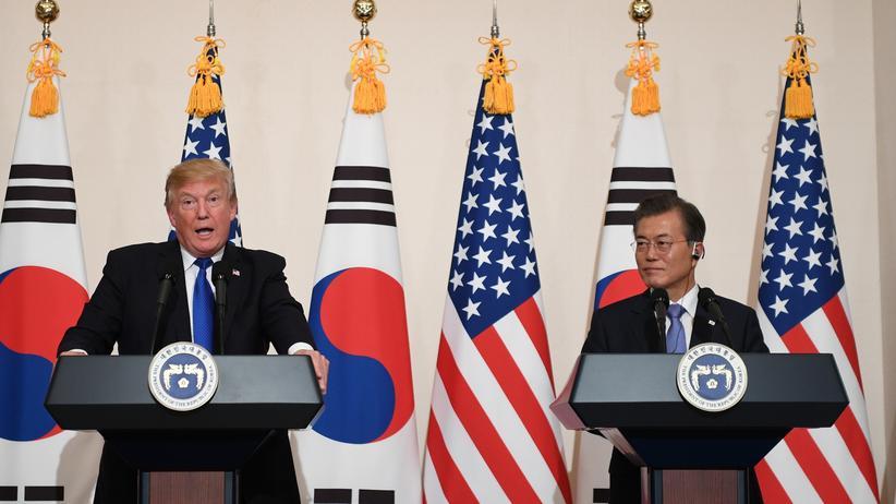Atomstreit: Trump fordert Nordkorea zu Deal auf