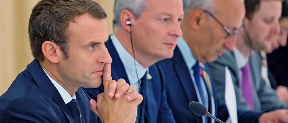 Emmanuel Macron Bruno Le Maire