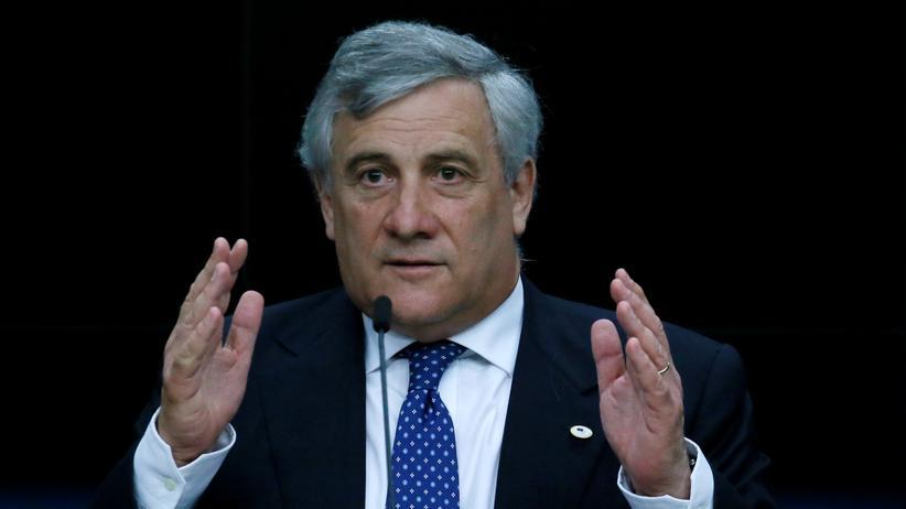 Antonio Tajani: EU-Parlamentspräsident in Brüssel