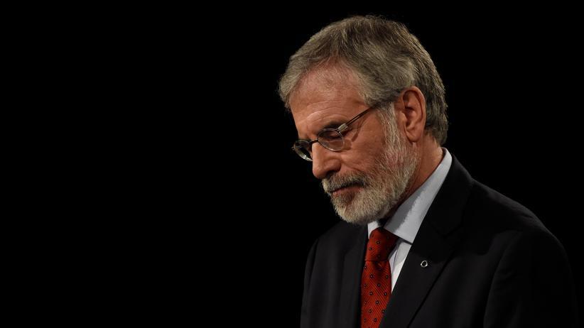 Irland: Der langjährige Sinn-Féin-Chef Gerry Adams