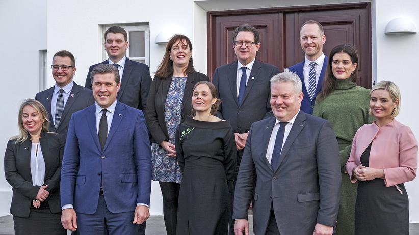Island Regierung