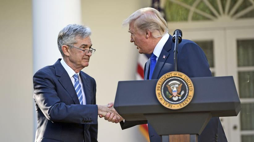 Jerome Powell: Billig, billiger, Fed