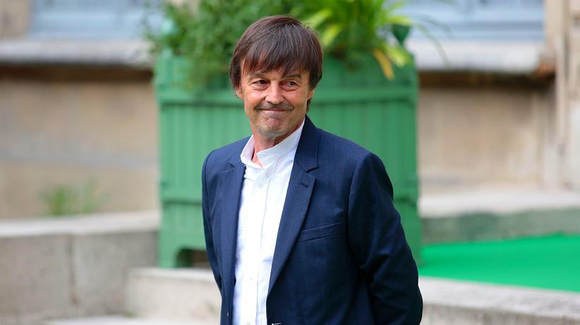 Nicolas Hulot: Er ist einer der beliebtesten Franzosen: Nicolas Hulot, Umweltminister Frankreichs, am Tag seiner Amtsübernahme im Mai 2017